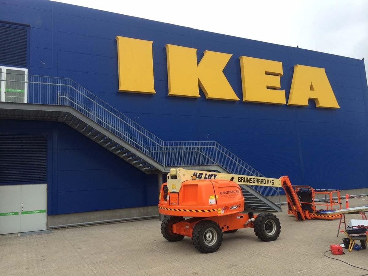 Ikea, Aalborg - Mineraluldspaneler