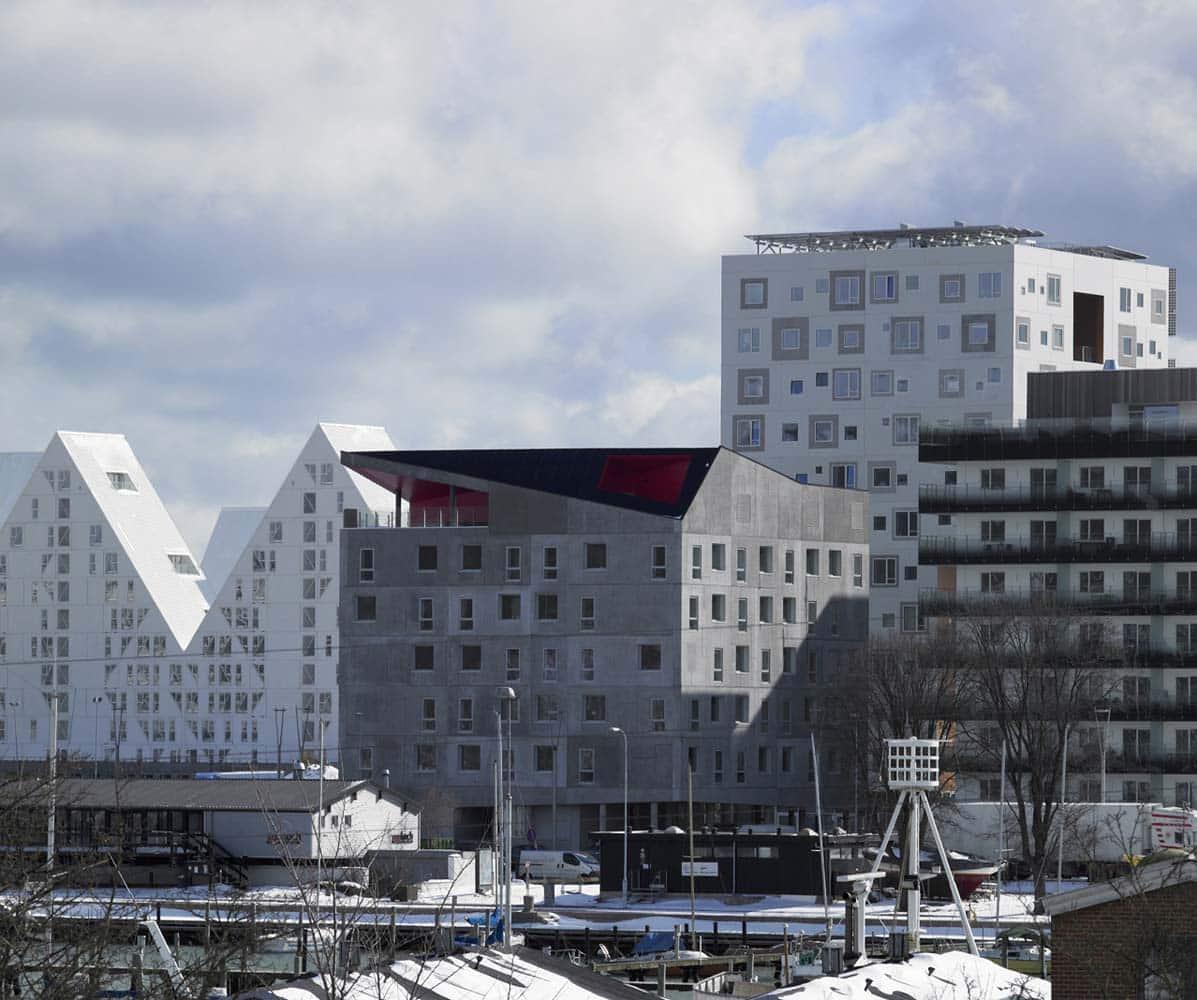 Ringgården, Aarhus - Tagkonstruktion til solceller