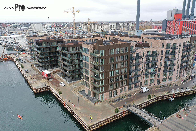 Facadebeklædning stål og aluminium København